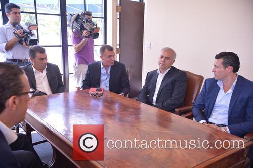 Valencia, Angel Zayon, Guest, Salvador Belda and Amadeo Salvo Lillo 9