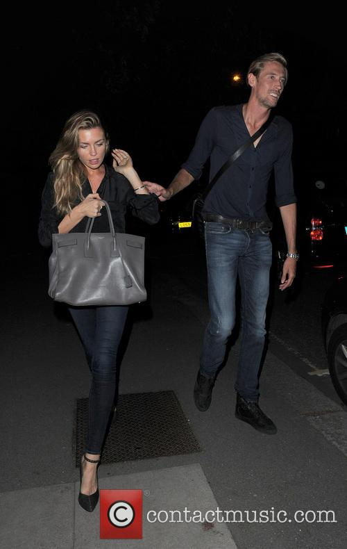 Abbey Clancy, Abigail Crouch and Peter Crouch 8
