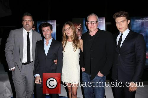 Amanda Brooks, James Deen, Braxton Pope, Bret Easton Ellis and Nolan Gerard Funk 2