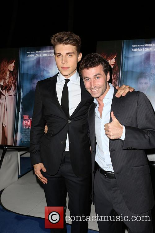 Nolan Gerard Funk and James Deen 1