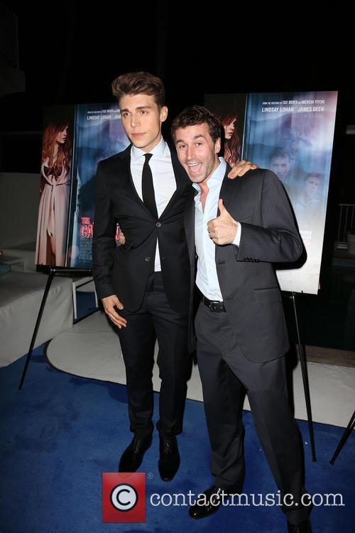 Nolan Gerard Funk and James Deen 3