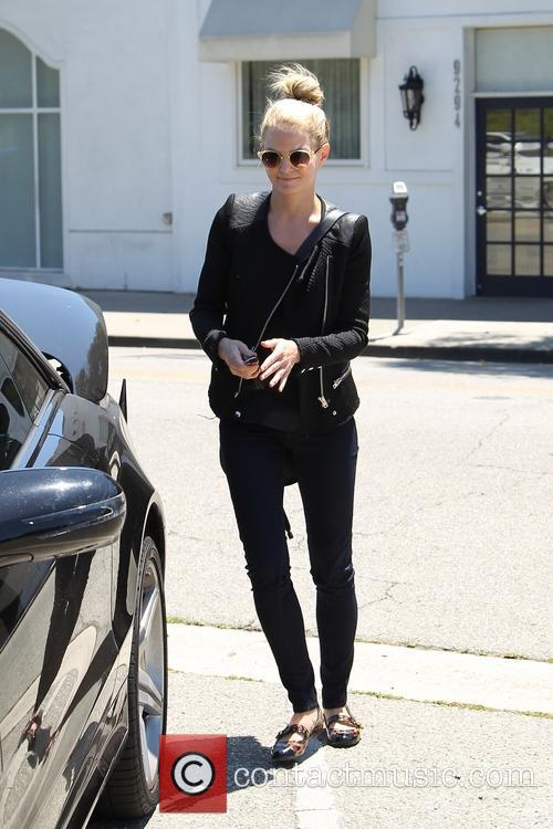 Jennifer Morrison shopping in Beverly Hills