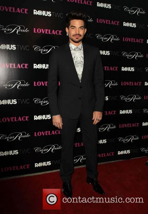 adam lambert lovelace los angeles premiere 3800766