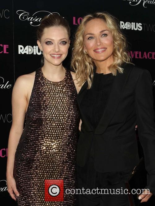 Amanda Seyfried and Sharon Stone 4