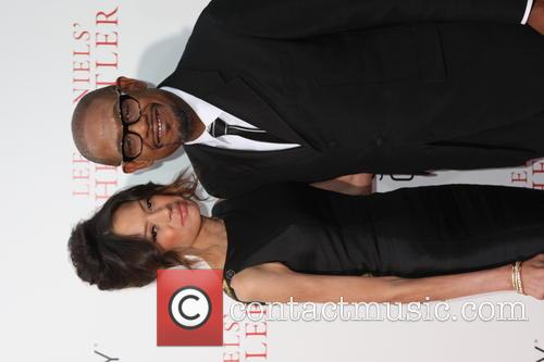 Forest Whitaker and Wife 4