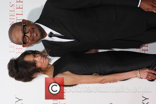 Forest Whitaker and Wife 5