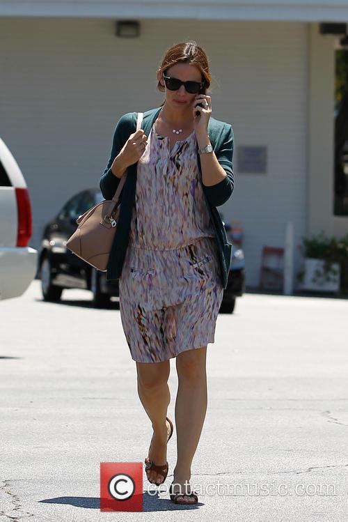 Jennifer Garner in Brentwood