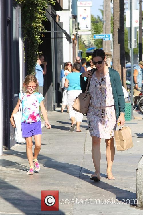 Jennifer Garner, Violet Affleck, Venice Beach