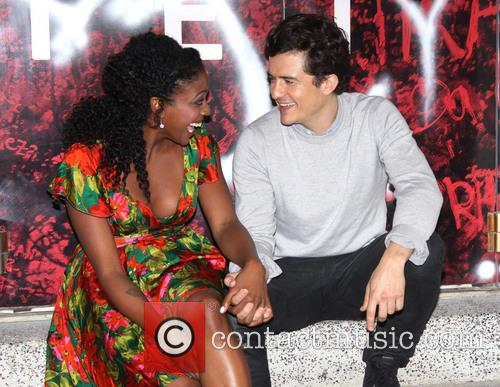 Condola Rashad and Orlando Bloom 2