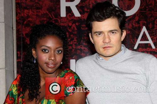 Condola Rashad and Orlando Bloom 9