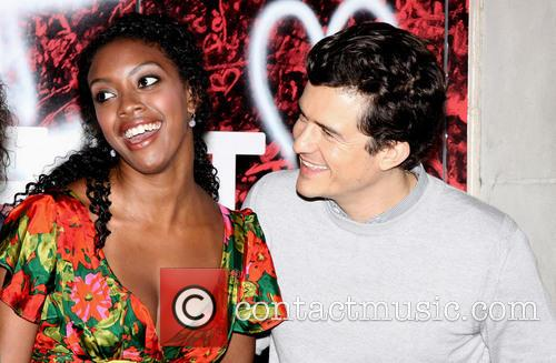 Condola Rashad and Orlando Bloom 10