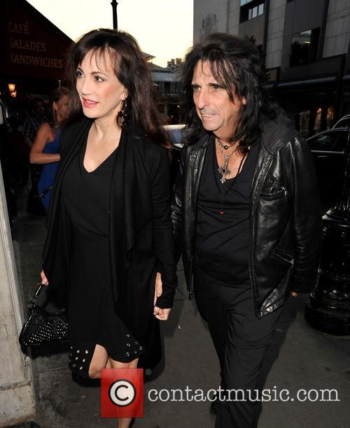 Alice Cooper and Sheryl Cooper 1