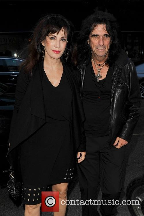 Sheryl Cooper and Alice Cooper 2