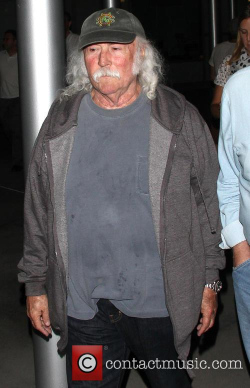 David Crosby leaves the ArcLight Theatre