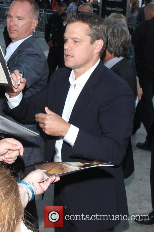 matt damon los angeles premiere of elysium 3804041
