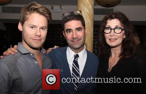 Randy Harrison, Jonathan Tolins and Joanna Gleason