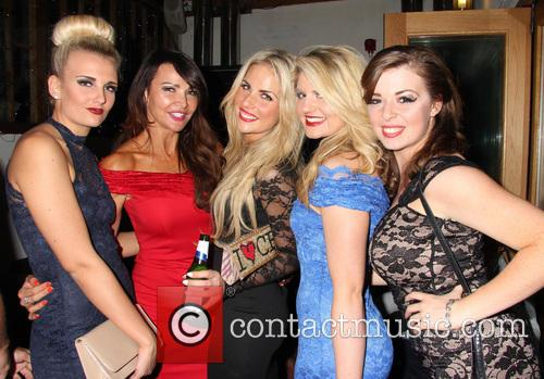 Lizzie Cundy, Angela Russell, Pippa Fulton, Lizzy Connolly and Rachel Rawlinson 3