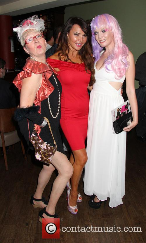 Lizzie Cundy, Su Pollard and Kitty Brucknell 6