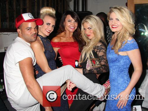 Nate James, Angela Russell, Lizzie Cundy, Pippa Fulton and Lizzy Connolly 3