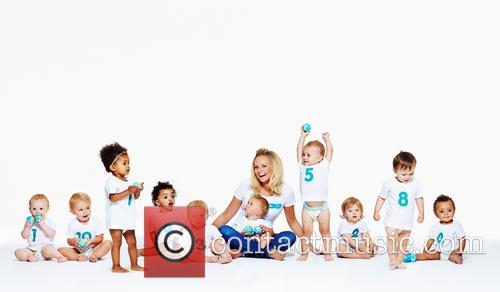 Emma Bunton launches UNICEF/Pampers campaign