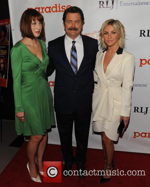 Diablo Cody, Nick Offerman and Julianne Hough 6
