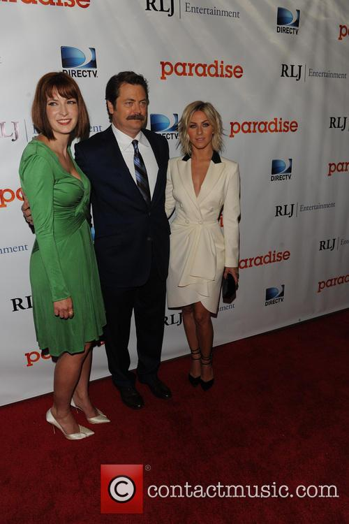 Diablo Cody, Nick Offerman and Julianne Hough 7
