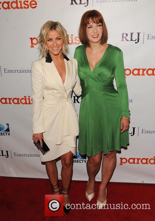Julianne Hough and Diablo Cody 9