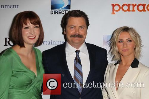 Diablo Cody, Nick Offerman and Julianne Hough 3