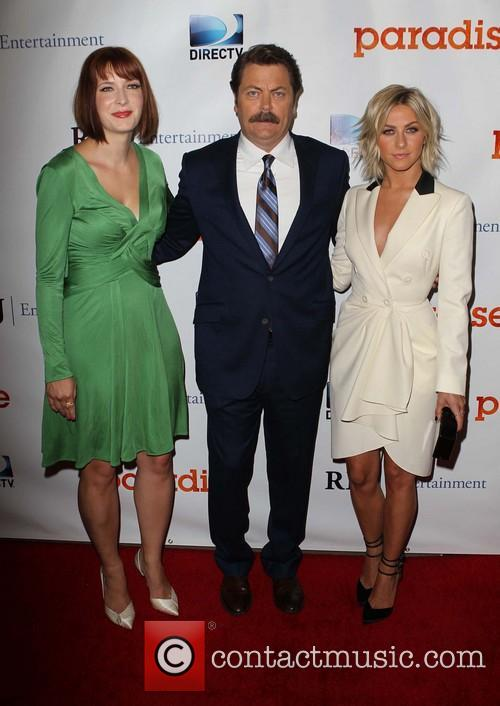 Diablo Cody, Nick Offerman and Julianne Hough 4
