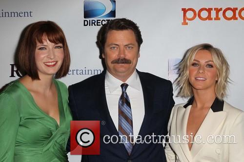 Diablo Cody, Nick Offerman and Julianne Hough 5