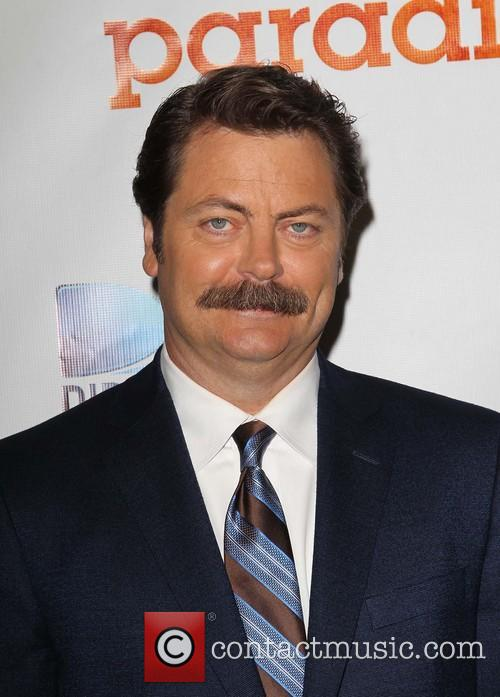 nick offerman paradise los angeles premiere 3802043
