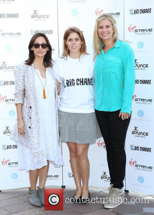 Natalie Imbruglia, Holly Branson and Princess Beatrice 1