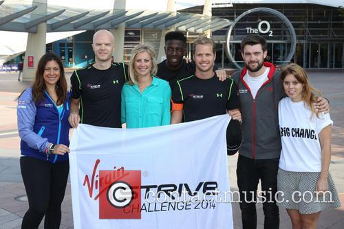 Virgin STRIVE Challenge - start photocall