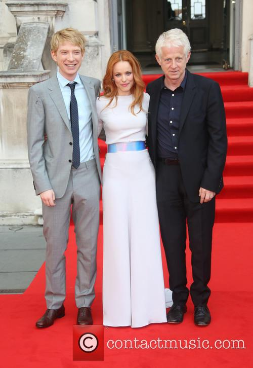 Rachel Mcadams, Domhnall Glleson and Richard Curtis 3