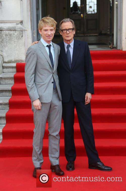 Domhnall Gleeson and Bill Nighy 6