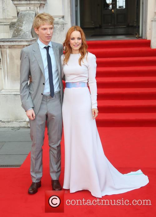Domhnall Gleeson and Rachel Mcadams