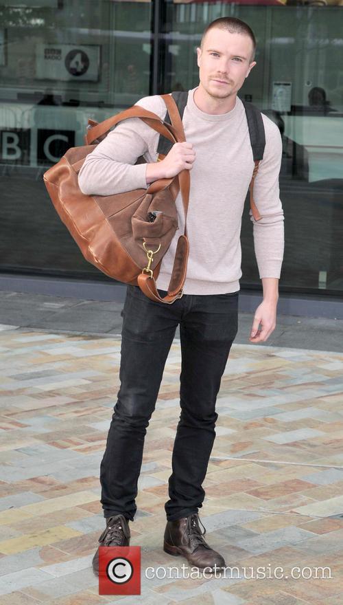 joe dempsie celebrities outside bbc mediacity 3803993