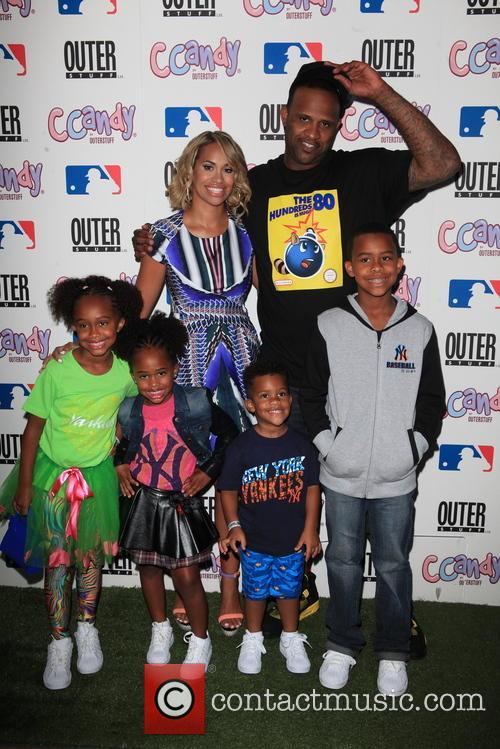Cc Sabathia, Amber Sabathia and Children 4