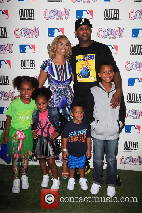 Cc Sabathia, Amber Sabathia and Children 7