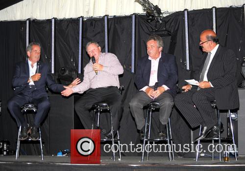 Sam Torrance, Ian Woosnam, Tony Jacklin and Willie Thorne 2