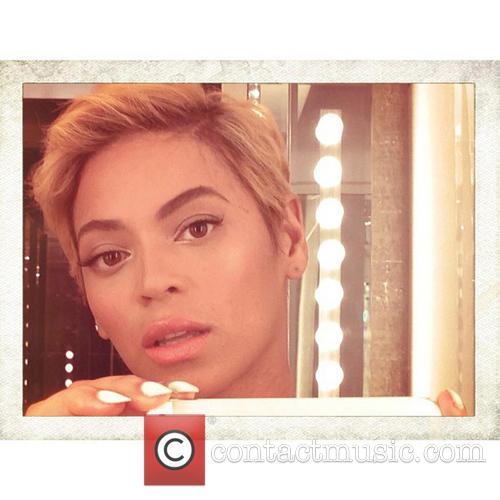 Beyonce's new hair cut