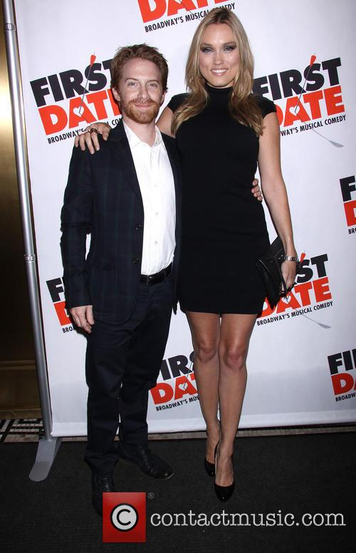 Broadway opening night of 'First Date' held at...