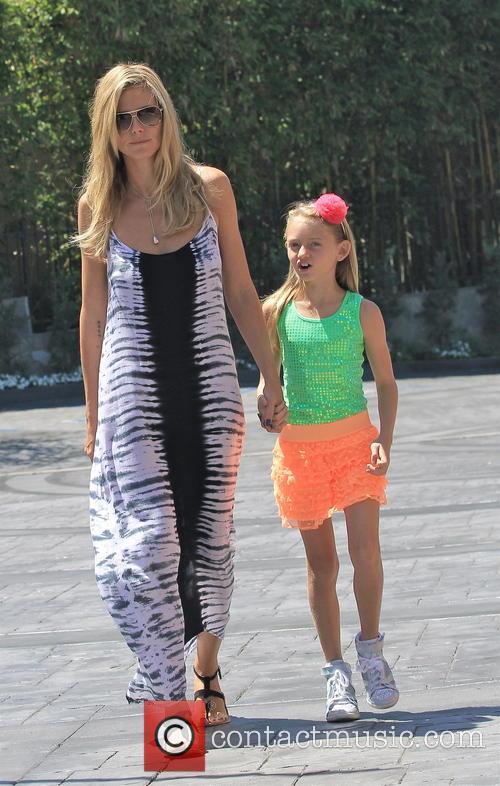Heidi Klum and Leni Samuel 10