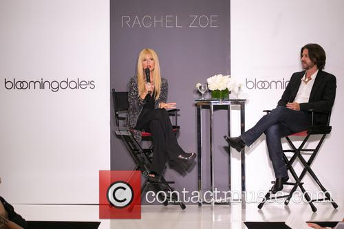 Rachel Zoe's fashion presentation for Bloomingdale's
