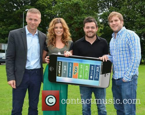Jason Barry, Aoibhinn Mcginnity, Laurence Kinlan and Peter Coonan
