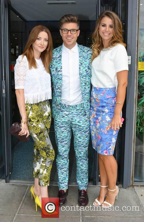 Vogue Williams, Jennifer Maguire and Darren Kennedy 5