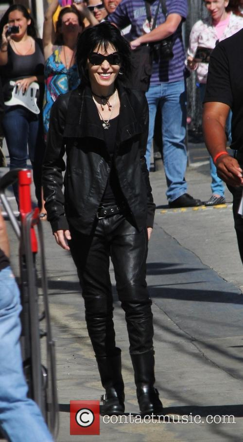 joan jett joan jett the blackhearts celebrities outside abcs 3806548