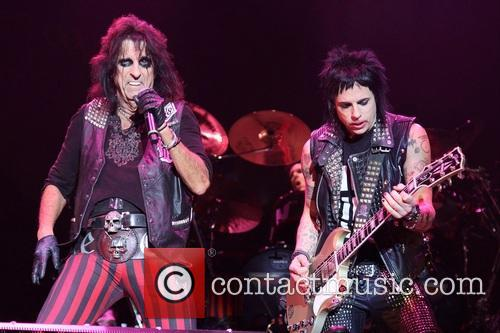 Alice Cooper and Tommy Henriksen 3
