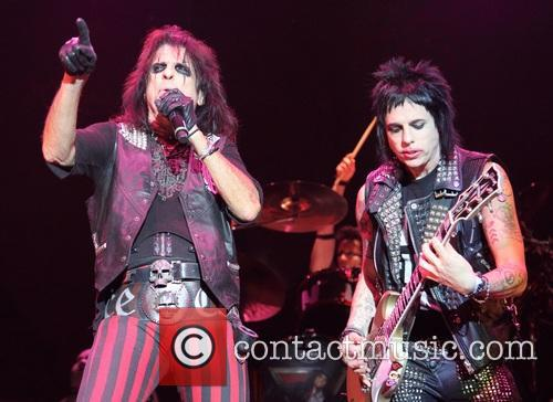 Alice Cooper and Tommy Henriksen 1