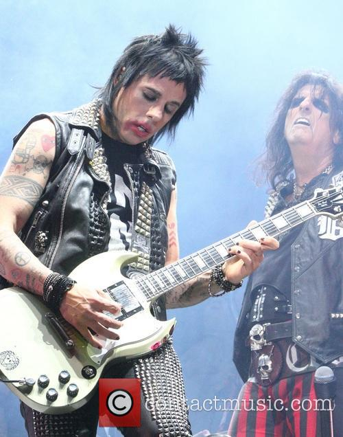 Alice Cooper and Tommy Henriksen 9
